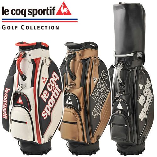 le coq sportif GOLF [ルコックゴルフ] ロゴデザイン キャディバッグ QQBPJJ03