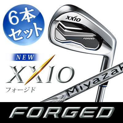 限定価格セール! DUNLOP [ダンロップ] フォージド] XXIO FORGED6 DUNLOP [ゼクシオ フォージド] アイアン 6本セット (#5~#9 6本セット、PW) Miyazaki Waena カーボンシャフト, 麺のたつみ:81688f61 --- totem-info.com