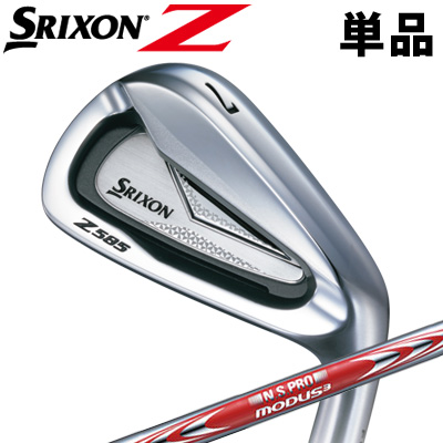 DUNLOP [ダンロップ] SRIXON [スリクソン] Z 585 単品 アイアン (#4、AW、SW) N.S.PRO MODUS3 TOUR 105 DST スチールシャフト