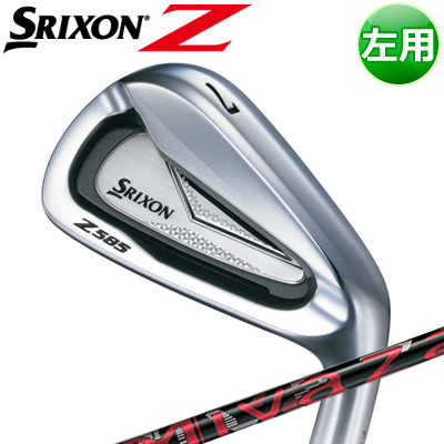 DUNLOP [ダンロップ] SRIXON [スリクソン] Z 585 【左用】 アイアン 6本セット(#5~PW) Miyazaki Mahana カーボンシャフト