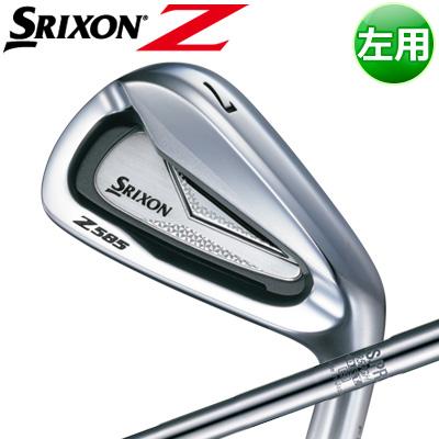 DUNLOP [ダンロップ] SRIXON [スリクソン] Z 585 【左用】 アイアン 6本セット(#5~PW) N.S.PRO 950GH DST スチールシャフト