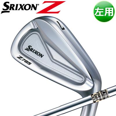 DUNLOP [ダンロップ] SRIXON [スリクソン] Z 785 【左用】 アイアン 6本セット(#5~PW) DynamicGold DST スチールシャフト