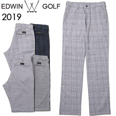 EDWIN GOLF [エドウィン ゴルフ] REGULAR TROUSER[レギュラー トラウザー]パンツ EG19S1010
