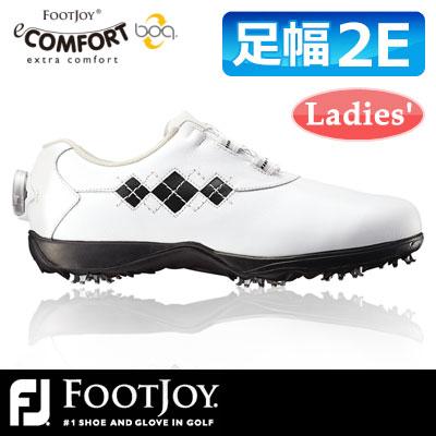 FOOTJOY [フットジョイ] eComfort Boa イーコンフォント ボア レディース ゴルフ シューズ 98549