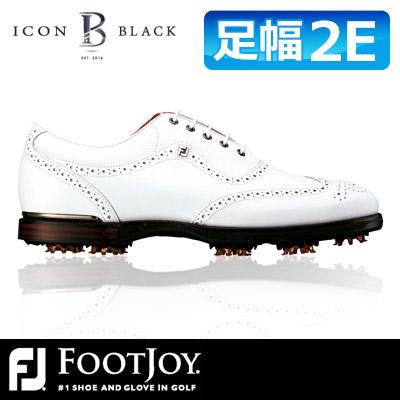 FOOTJOY [フットジョイ] ICON Black [アイコン ブラック] ゴルフ シューズ 52009