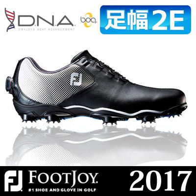 FOOTJOY [フットジョイ] D.N.A Boa [ディーエヌエー ボア] メンズ ゴルフシューズ 53333 ブラック