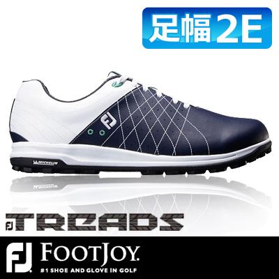 公式サイト FOOTJOY FOOTJOY [フットジョイ] FJ TREAD メンズ ゴルフシューズ 56210 56210 ホワイト TREAD/ネイビー, NaturalBodyMaking:37a688e6 --- canoncity.azurewebsites.net