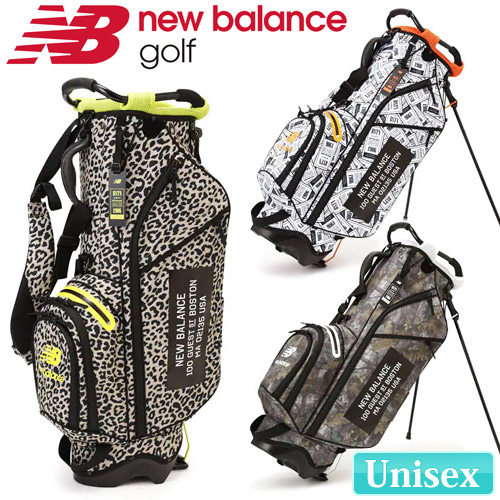 NEW BALANCE GOLF [ニューバランス ゴルフ] マルチパターン プリント ユニセックス キャディバッグ 012-9280002
