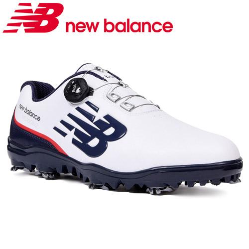 NEW BALANCE GOLF [ニューバランス ゴルフ]スパイク BOA ゴルフシューズ [トリコロール] MG1001V2 T2