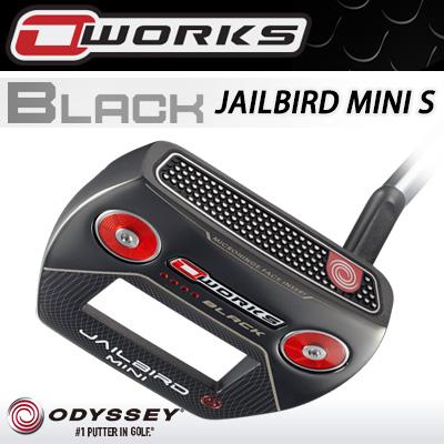 ODYSSEY [オデッセイ] O-WORKS BLACK [オー・ワークス ブラック] JAILBIRD MINI S [ジェイルバード ミニS] パター [日本正規品]