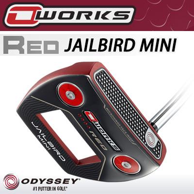 【週末限定セール】 ODYSSEY [オデッセイ] O-WORKS RED [オー・ワークス レッド] JAILBIRD MINI [ジェイルバード ミニ] パター [日本正規品]