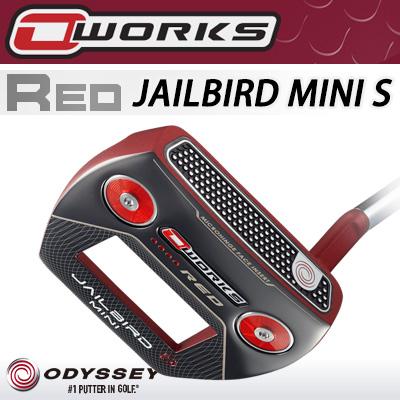 ODYSSEY [オデッセイ] O-WORKS RED [オー・ワークス レッド] JAILBIRD MINI S [ジェイルバード ミニS] パター [日本正規品]