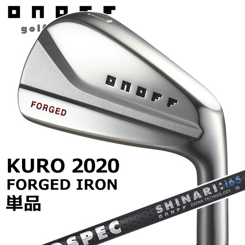 GLOBERIDE [グローブライド] ONOFF [オノフ] 2020 KURO [黒シリーズ] フォージド 単品アイアン LABOSPEC SHAFT SHINARI:i65