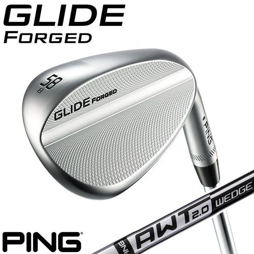 PING [ピン] GLIDE FORGED WEDGE [グライド フォージド] ウェッジ AWT 2.0 WEDGE スチールシャフト [日本正規品]