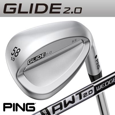 PING [ピン] GLIDE 2.0 WEDGE [グライド 2.0 ウェッジ] AWT2.0 WEDGE スチールシャフト [日本正規品]