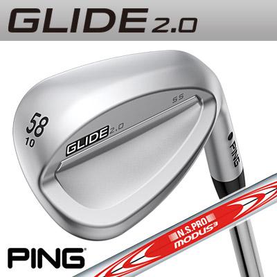 PING 105 2.0 [ピン] GLIDE 2.0 WEDGE [グライド [グライド 2.0 ウェッジ] N.S.PRO MODUS3TOUR 105 スチールシャフト [日本正規品], CHRONO:48cb6ad2 --- insidedna.ai