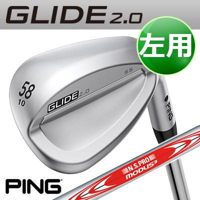 PING [ピン] GLIDE 2.0 WEDGE [グライド 2.0 ウェッジ] 【左用】 N.S.PRO MODUS3TOUR 105 スチールシャフト [日本正規品]