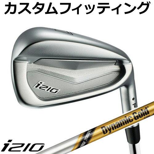 【カスタムフィッティング】 PING [ピン] i210 アイアン 6本セット (5I~9I、PW) Dynamic Gold TOUR ISSUE スチールシャフト [日本正規品]