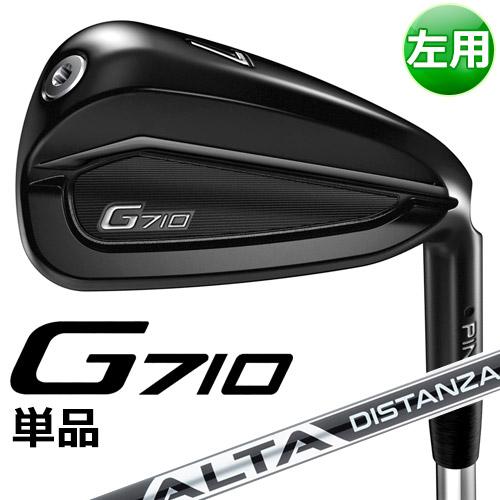 【先行予約受付中】 PING [ピン] 【左用】 G710 単品アイアン ALTA DISTANZA 黒 40 カーボンシャフト [日本正規品]