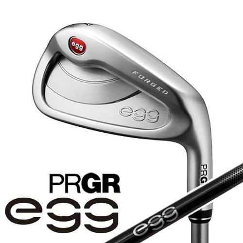 PRGR [プロギア] NEW egg FORGED アイアン 4本セット (#7~#9、P) 専用 カーボンシャフト