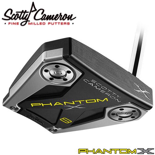 Titleist [タイトリスト] Scotty Cameron [スコッティ・キャメロン] PHANTOM X 2019 パター 8 [日本正規品]