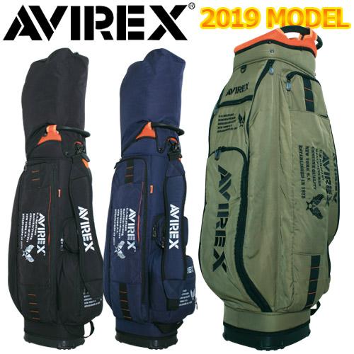 【週末限定ポイント20倍】 AVIREX [アヴィレックス] カート キャディバッグ 19SS-PA1