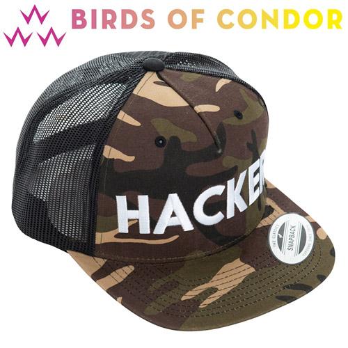 【年末年始ポイント20倍】 BIRDS OF CONDOR [バード オブ コンドル] BOC TRUCKERS HACKER ゴルフ キャップ TEMC9S03
