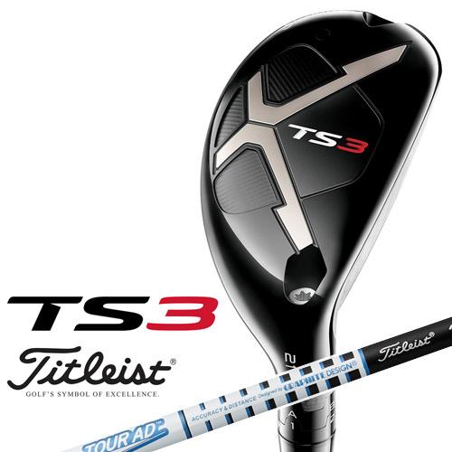 Titleist [タイトリスト] TS3 ユーティリティメタル Titleist TourAD T-60 カーボンシャフト [日本正規品]