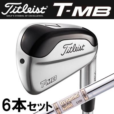 Titlest [タイトリスト] 718 T-MB アイアン 6本セット (#5-P) Dynamic Gold AMT スチールシャフト [日本正規品]