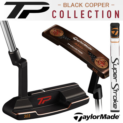 TaylorMade [テーラーメイド] TP COLLECTION BLACK COPPER JUNO [カッパージュノ スーパーストローク] パター [日本正規品]