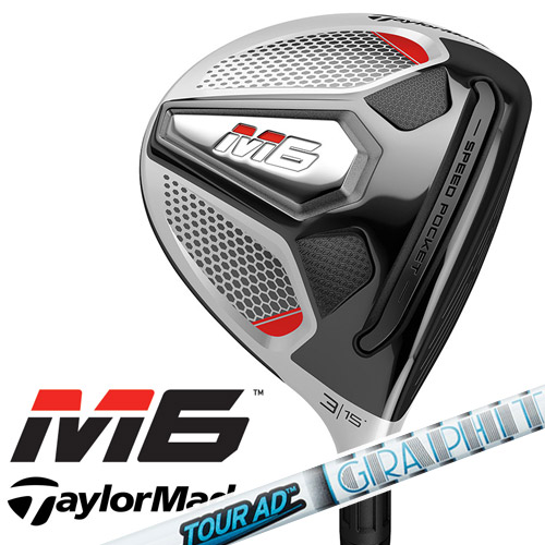TaylorMade [テーラーメイド] M6 フェアウェイウッド Tour AD VR-6 カーボンシャフト [日本正規品]