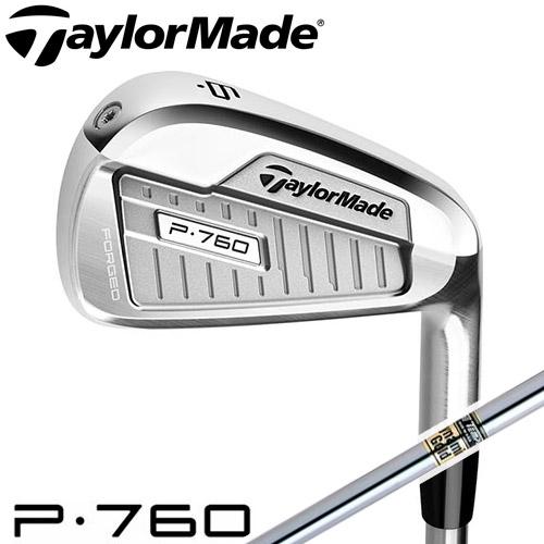 TaylorMade [テーラーメイド] P760 アイアン 6本セット (#5~PW) Dynamic Gold スチールシャフト [日本正規品]