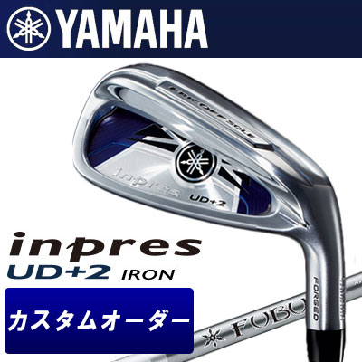 【カスタムオーダー】YAMAHA [ヤマハ] inpres インプレス UD+2 アイアン 4本セット(#7~PW) FUBUKI Ai Iron カーボンシャフト
