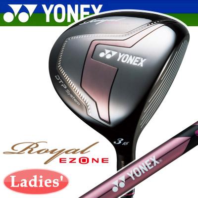 YONEX [ヨネックス] Royal EZONE [ロイヤル イーゾーン] レディース ハイブリッドフェアウェイ XELA for Royal カーボンシャフト