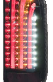 【クーポンで最大2000円OFF】415 COBRA BAD LIGHT SABER トヨタ ハイエース 200系用 カラー:インナーブラック/スモークレンズ/レッドバー(BADLSBKLSKRB4)【電装品】415コブラ バッド ライトセーバー LED TAIL LAMP LEDテールランプ