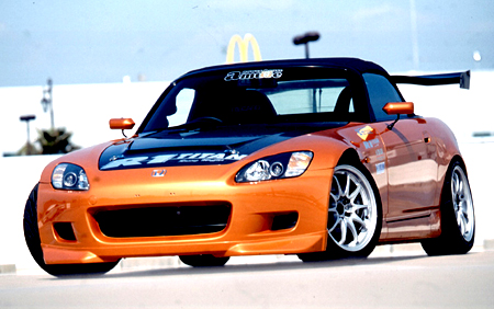 amuse フロントリップスポイラー ホンダ S2000 AP1用 【エアロ】アミューズ Front Lip spoiler