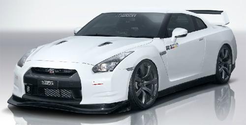 amuse フロントアンダーディフューザー 日産 ニッサン GT-R R35用 【エアロ】アミューズ Front Under Diffuser