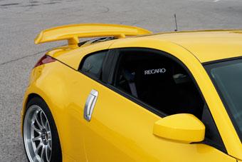 amuse リアウィングスポイラー タイプ2 日産 ニッサン フェアレディZ Z33用 【エアロ】アミューズ Rear Wing Spoiler
