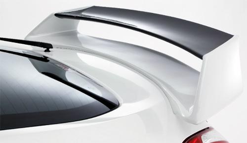 amuse リアウイング 専用クリアストップランプ付き 日産 ニッサン フェアレディZ Z34用 【エアロ】アミューズ Rear Wing
