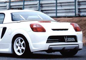 amuse リアアンダースポイラー トヨタ MR-S ZZW30用 【エアロ】アミューズ Rear Under Spoiler