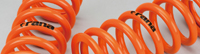 Rana(ラーナ) レーススプリング(直巻き) 2本セット I.D65mm 自由長175mm バネレート80N/mm (25.175.65.080)【直巻きサス】Aragosta(アラゴスタ)