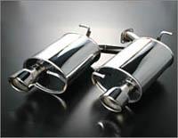 AUTOEXE Premium Tail Muffler マツダ MPV LY3P用 (MLX8Y00)【マフラー】【自動車パーツ】オートエクゼ プレミアムテールマフラー