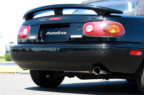 AUTOEXE STAINLESS MUFFLER マツダ ロードスター NA8C/NA6CE用 (MNA8510)【マフラー】【自動車パーツ】オートエクゼ ステンレスマフラー