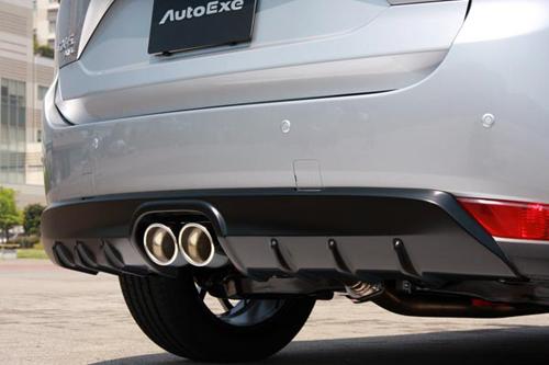 【正規品】 AUTOEXE Premium Tail Muffler + REAR UNDER PANEL マツダ CX-5 2.2L KF2P用 センター出し(MKF8Y50/MKF2400)【マフラー】【エアロ】オートエクゼ プレミアムテールマフラー リアアンダーパネル, 有田市 593ca6a5