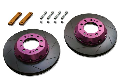 最新のデザイン Biot euro Rear Brake Offsetkit アウディ A6 オールロード C5用 (BR.OS.EA22-S)【ブレーキローター】ビオ・ユーロ リア ブレーキオフセットキット, ヴィレコ 49b2aab9