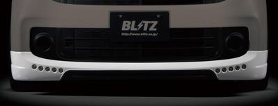 【クーポン利用で最大1200円OFF!】BLITZ AERO SPEED R-Concept Front Lip Spoiler DAY LIGHT SET ホンダ N-ONE(エヌワン) JG1用 (60148)【エアロ】ブリッツ エアロスピード Rコンセプト フロントリップスポイラー デイライトセット