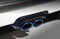 BLITZ AERO SPEED R-Concept MUFFLER GARNISH FRP製 ホンダ エヌワン(N-ONE) JG1用 (60149)【エアロ】ブリッツ エアロスピード Rコンセプト マフラーガーニッシュ