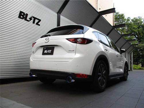 BLITZ NUR-SPEC VSR マツダ CX-5 KF2P用 (63167V)【マフラー】【自動車パーツ】ブリッツ ニュルスペック ブイエスアール