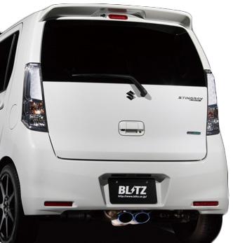 【クーポンで100円OFF】BLITZ NUR-SPEC VSR スズキ ワゴンR スティングレー MH34S用 (63505V)【マフラー】【自動車パーツ】ブリッツ ニュルスペック ブイエスアール