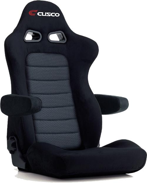 CUSCO×BRIDE Collaboration seat EUROSTER II+C CRUZ カラー:ブラック(ベース)/グレーメッシュ(センター) (C01-E54AAN)【シート】【自動車パーツ】クスコ×ブリッド コラボレーションシート ユーロスター2 プラスC クルーズ キャロッセ